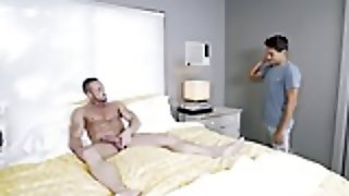 Straight Guy Myles Landon Cheats His Wife With Homo Titus
