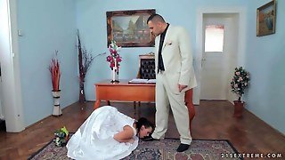 Bride Getting Humiliated And Fucked
