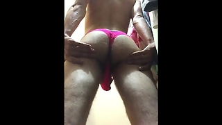 Big Booty Panty With Hung Cock