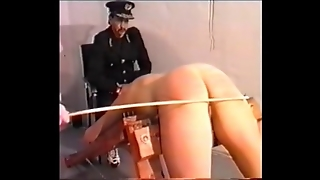 Caned In Prison