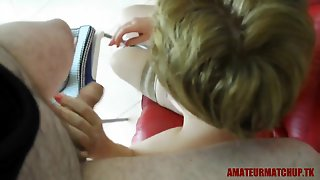 Russian Milf From Amateurmatchup.tk Let Me Film Her Giving Me A Blowjob