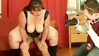 Horny Mature Sucking Cock And Microphone