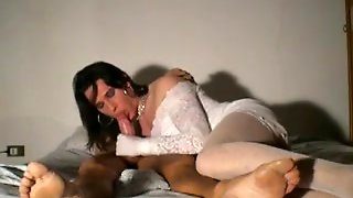 Crossdresser Blowjob