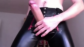Huge Dick And Rubber Shorts
