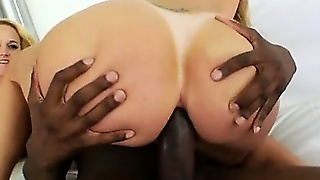 Beautiful Butt Licking And Interracial