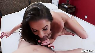 Silvia Saige Gets The Hole Between