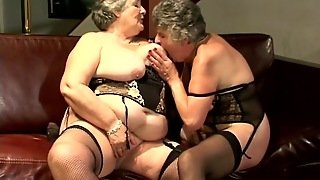 Dirty Matures In Lesbian Action