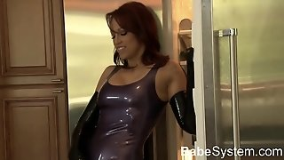 Nicki Hunter Fucked In Tight Latex