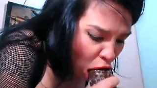 Extreme Throatjob By Latina Model 2