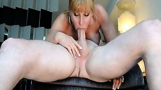 Cute Wife Gives A Good Blowjob