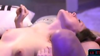 Horny Chicks Get Fingered In This Group Sex Session