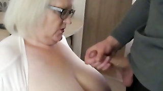 Sally Getting Those Big Tits Coated