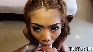 Alluring Honey Gives Head And Gives An Outstanding Blowjob