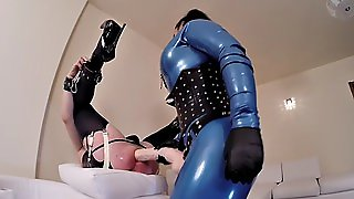 Latex Mistress Fuck Latex Slave