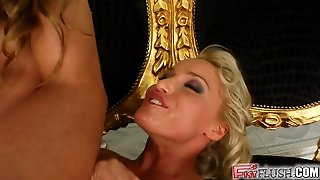 Two Hot Babes Get Busy Fisting Each Other Like Crazy