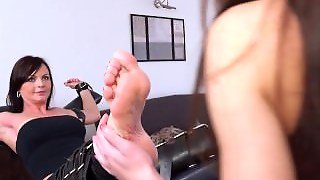 Ticklish Sandra Tortured