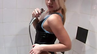 Teen Is On Fire In Solo Action