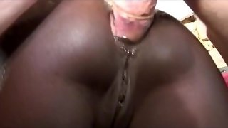 French Ebony Babes First Anal Sex