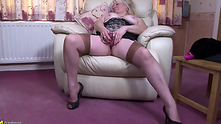 Gilf, Nanny, Mother, Definition, Rack, Cindy, Large, Boobs, Home, Hd, Old