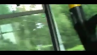 Fingering On The Bus