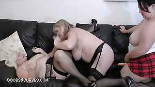 Sarah Jane Fucks A Couple Of Old Aunties