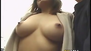 Naked Japanese Exhibitionist Outdoors