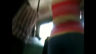 Tight Ass In Bus