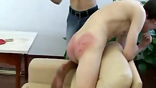 Twink Is Beaten With A Spoon And A Cane