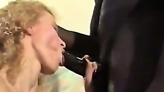 Homemade Interracial Mature Gangbang