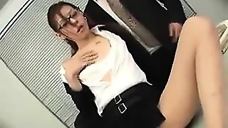 Asian Slut Used At The Office
