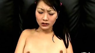 Gorgeous Asian Babysitter Evelyn Gets Banged And Receives