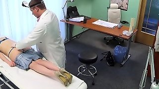 Czech Petient Fucked In Fake Hospital