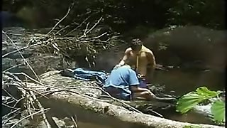 Fucking Asians Outdoors