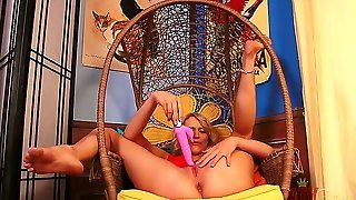 Blonde Oriental Mia Malkova Shows Every Inch Of Her Body Before Her Plays With Herself On Cam