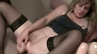 Amateur Milfs With Monster Dildos