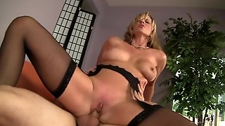Divine Blonde Milf Jody West Has Juicy Boobs And Smooth Ass