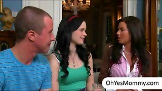 Veronica Avluv And Stepdaughter Jizzed