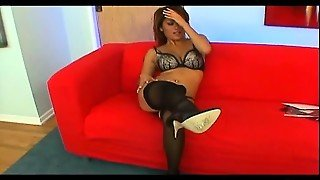 Oriental Hottie In High Heels And Stockings Charmane Gets Fucked Hard