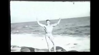 Gay Vintage 50's - Ed Furry, On The Beach