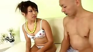 Water In Her Tight Japanese Anal