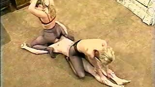 Classic Mixed Wrestling And Facesitting