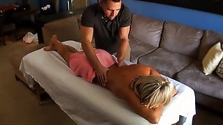 Cameron Dee's First Massage