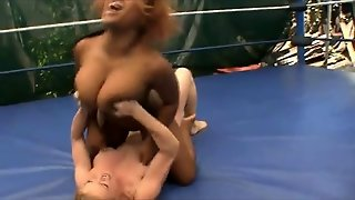 Interracial Wrestling