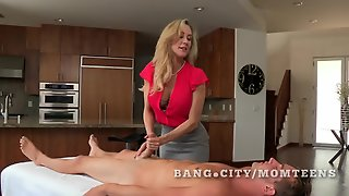 Teen And Mature Milf Share A Boyfriend