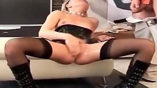 Piss On Pussy And On Tits