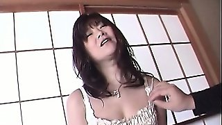 Sex Starved Japanese Tramp Flaunting Her Huge Tits And Nipples