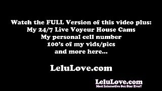 Lelu Love-Hairwashing In The Shower With Makeup On