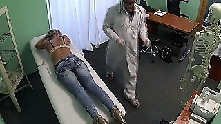 Topless Patient Seduced By Horny Doctor