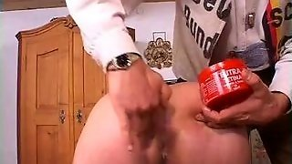 Mature Slave Gets Fisted