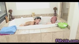 Soapy Massage By London Keys